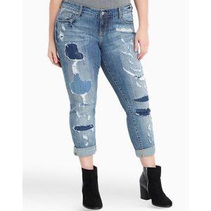 Torrid Premium Boyfriend Jeans